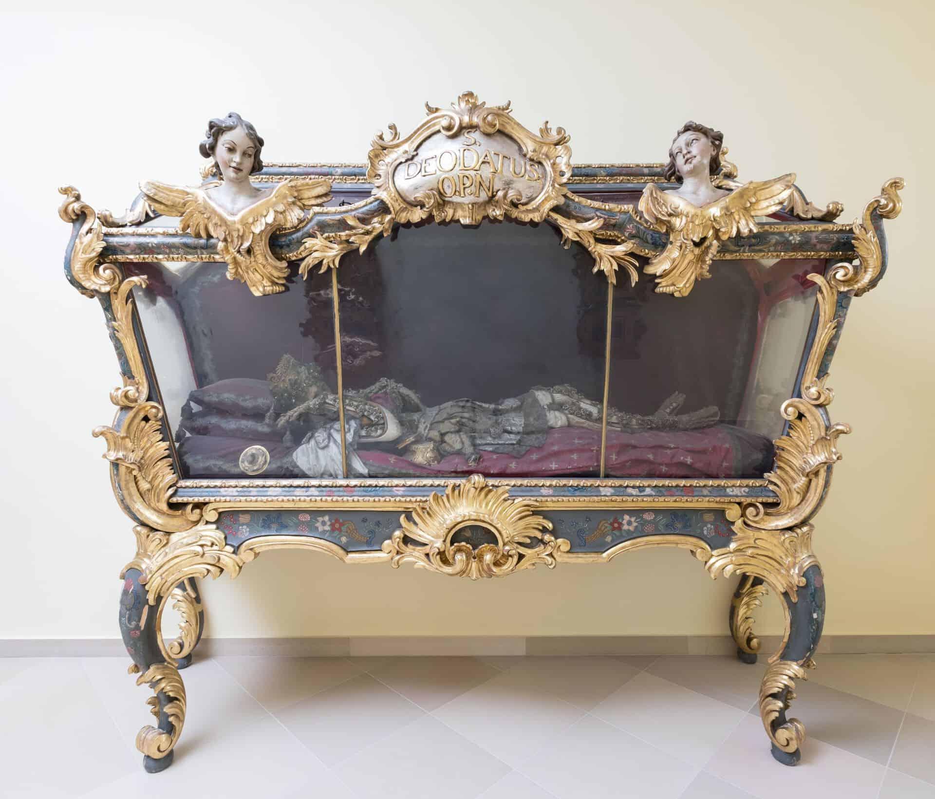 Reliquie des Hl. Deodatus bei den Elisabethinen Linz