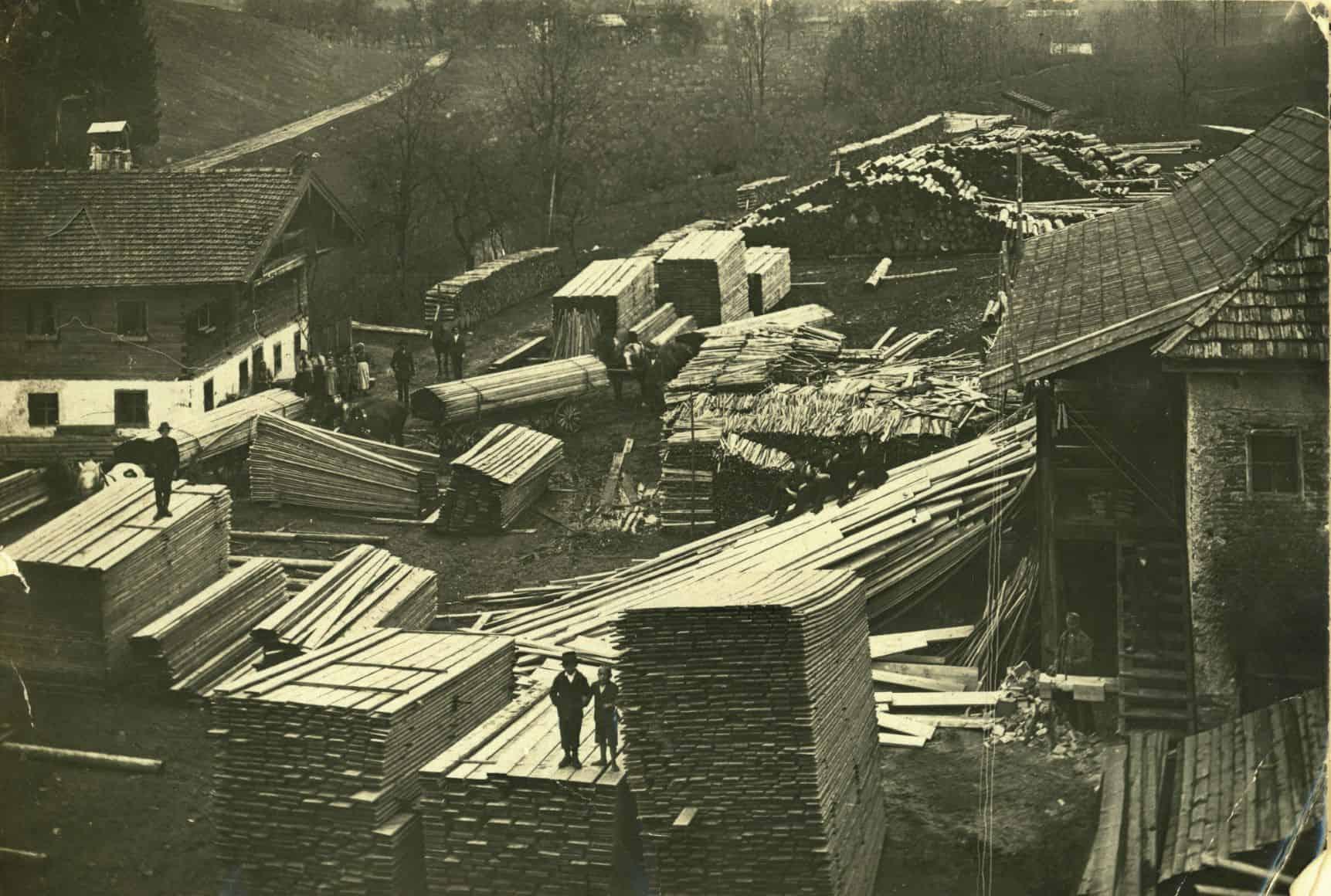 Firmenstandort um 1912