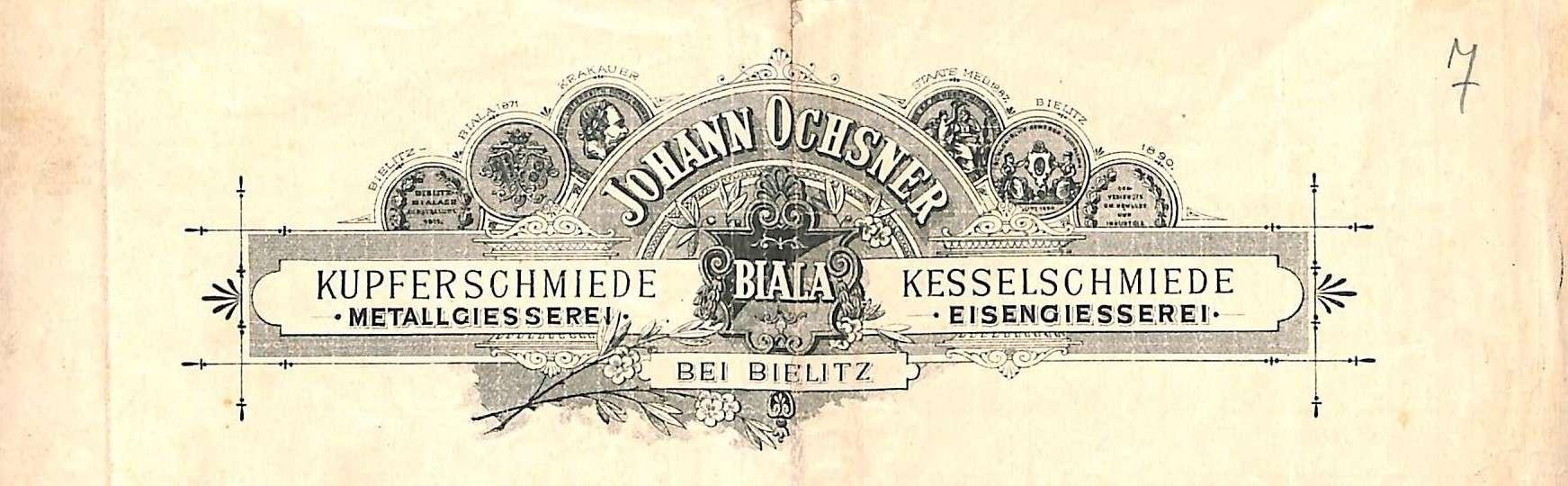 Briefkopf 1895